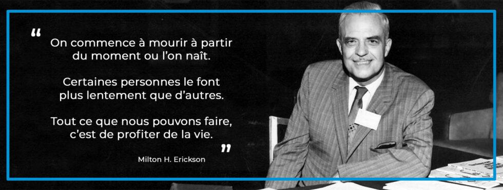 Milton H. Erickson - hypnose thérapeutique